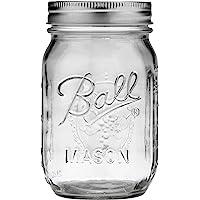 Single Jarden Ball Regular Mouth 16-Ounces Mason Jar with Lid and Band (1-jar)