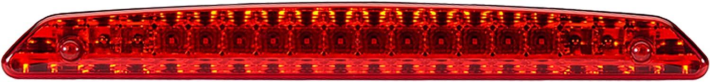 12V Zona montaggio: posteriore Montaggio Cavo: 200mm LED esterno HELLA 2DA 343 800-001 Luce supplementare freno Colore diffusore luce: rosso