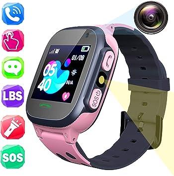 Teléfono Smartwatch para Niños, Pantalla Táctil 1.44 LBS ...