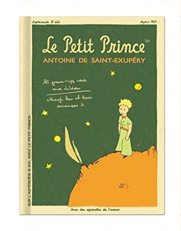 Vintage Galore le petit prince vintage galore collection blank notebook lp8667
