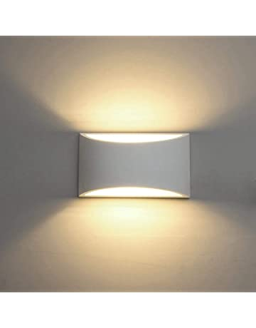 High Quality Modern LED Wall Sconce Lighting Fixture Lamps 7W Warm White 2700K Up And  Down Indoor Plaster