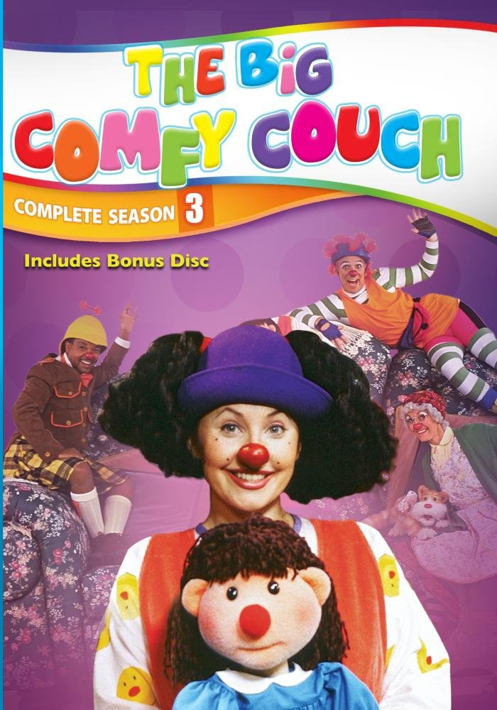 The Big Comfy Couch - The Complete Third Season - 2 DVD Set with Bonus Disc (Amazon.com Exclusive)