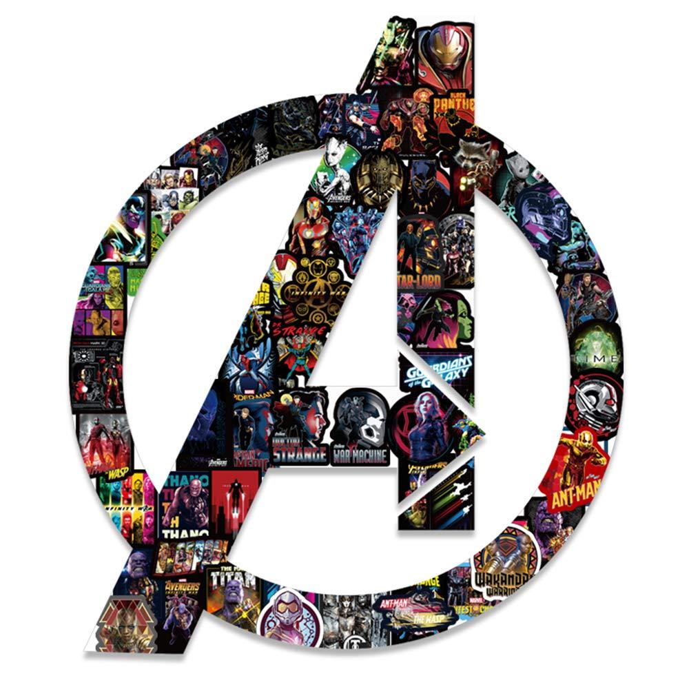 Vinyl Pop Personalised Superhero Comics movie Stickers for