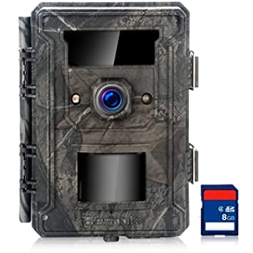 Bestok Cámara de Caza 12MP HD Cámara de Vigilancia 65ft Visión Nocturna IR Leds 940nm Infrarrojo