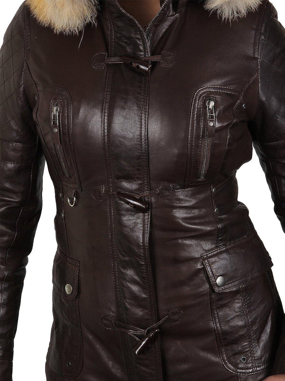Raton Fourrure De Brandslock Laveur Luxe Jacket Femmes Motard wHPnq16