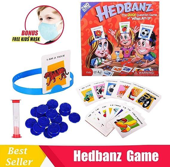 Juegos De Cartas, Juegos De Adivinanzas, Adivina Lo Que Soy, Adecuado para Celebraciones Familiares/Fiestas,Multi-Colored: Amazon.es: Hogar