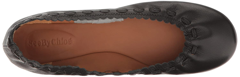 da9266e0e Amazon.com: See by Chloé Women's Jane Ballet Flat: Shoes