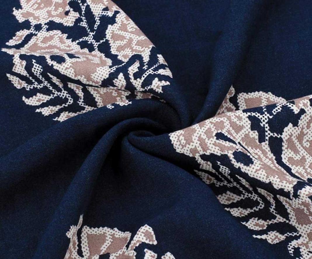 Women Girl Chiffon Kimono Cardigan Coat, Zulmaliu Summer Long Loose Jacket Blouse for Beach, Irregular Long Sleeve Wrap Casual Coverup Tops Outwear (L, 5#) by Zulmaliu-Women Coat (Image #6)