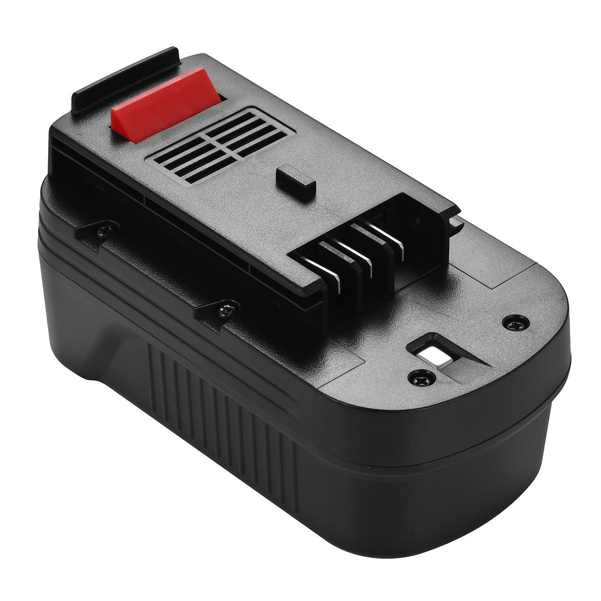Powerextra Batteria per Black Decker 18V, Black and Decker [Ni-MH 3000mAh ] 244760-00 A1718 A18 A18E A18NH FIRESTORM A18 FSB18 HPB18 PS18K2 PS182KB NST2018 NST1810 NS118 NPT3118 NPP2018 NHT518 - Nero