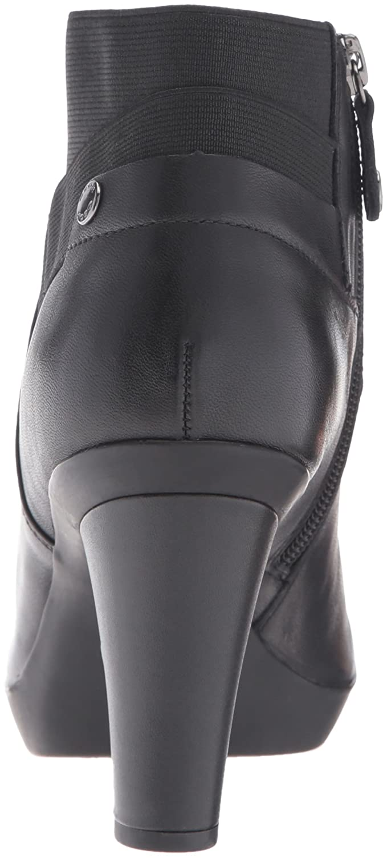 Amazon.com | Geox Womens Winspirationstiv17 Ankle Bootie, Black, 40 EU/10 M US | Ankle & Bootie
