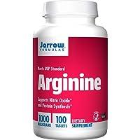 Jarrow Formulas Arginine, 1000mg - 100 tabs, 100 Tablet
