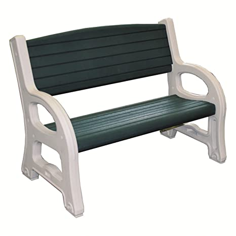 Panchina In Plastica Verde.Profiline 1001990 Plastica Panca Panchina Da Giardino In