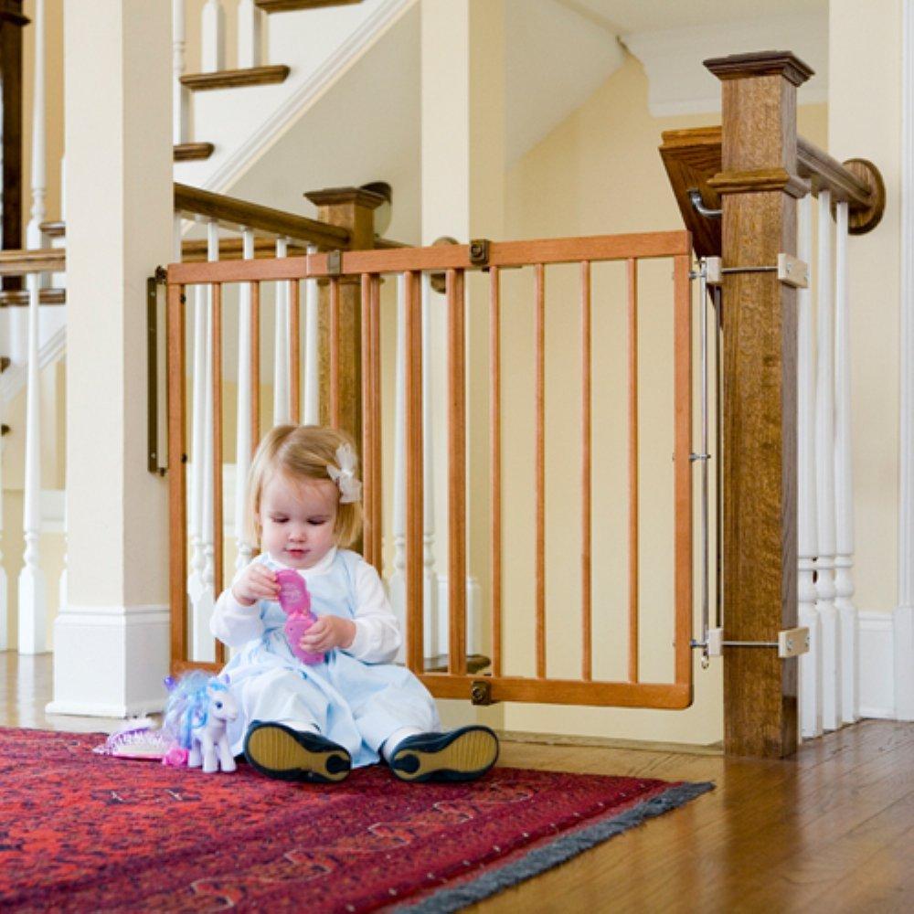 Amazon.com : Cardinal Gates Stairway Special Gate, Black : Indoor Safety  Gates : Baby