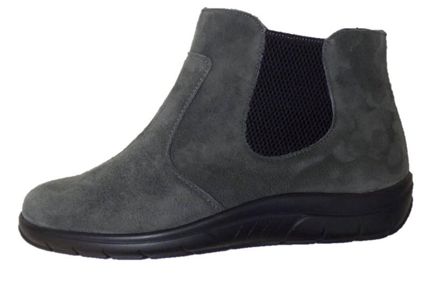 Chelsea Chelsea Chelsea Boot Stiefelette Semler Weite H grau - 6aef18