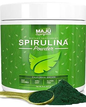 MAJU's Spirulina Powder