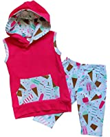 So Sydney Toddler & Girls Ice Cream Summer Treats Shorts Skirt Dress Collection