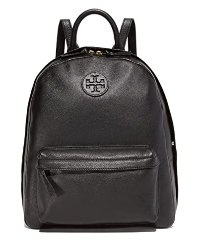 6fe67de92f5 Amazon.com  Tory Burch Leather Backpack (Black)  Shoes