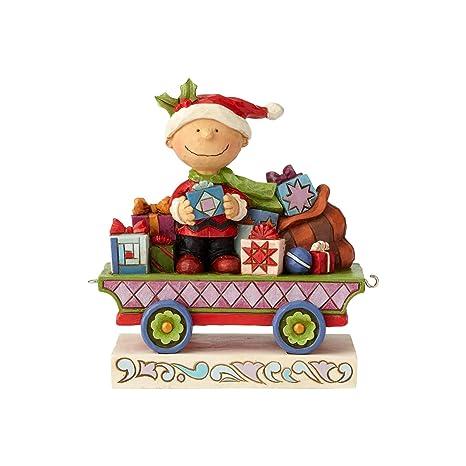 Watch Charlie Brown Christmas.Enesco Peanuts By Jim Shore Charlie Brown Christmas Train Figurine 4 72 Multicolor