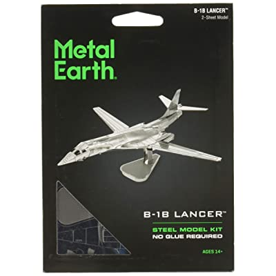 Fascinations Metal Earth B-1B Lancer 3D Metal Model Kit: Toys & Games
