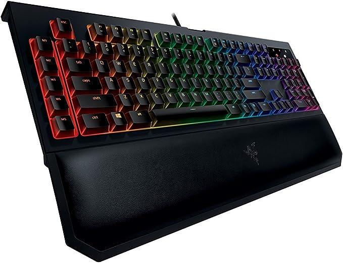 Razer BlackWidow Chroma V2, Clicky RGB Teclado mecánico para ...