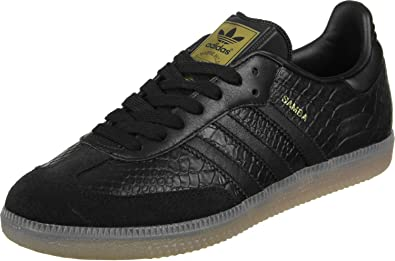 5da9307d3318 adidas Women s Samba W Bz0620 Sneakers Black Size  7.5 UK  Amazon.co ...