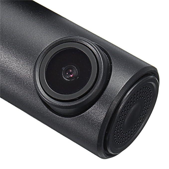 Harpily Camara Coche WiFi Coche DVR Dashcam Grabadora de Video Registrador Digital Videocámara Mini con Visión Nocturna Vista Super Amplia 150 Grados: ...