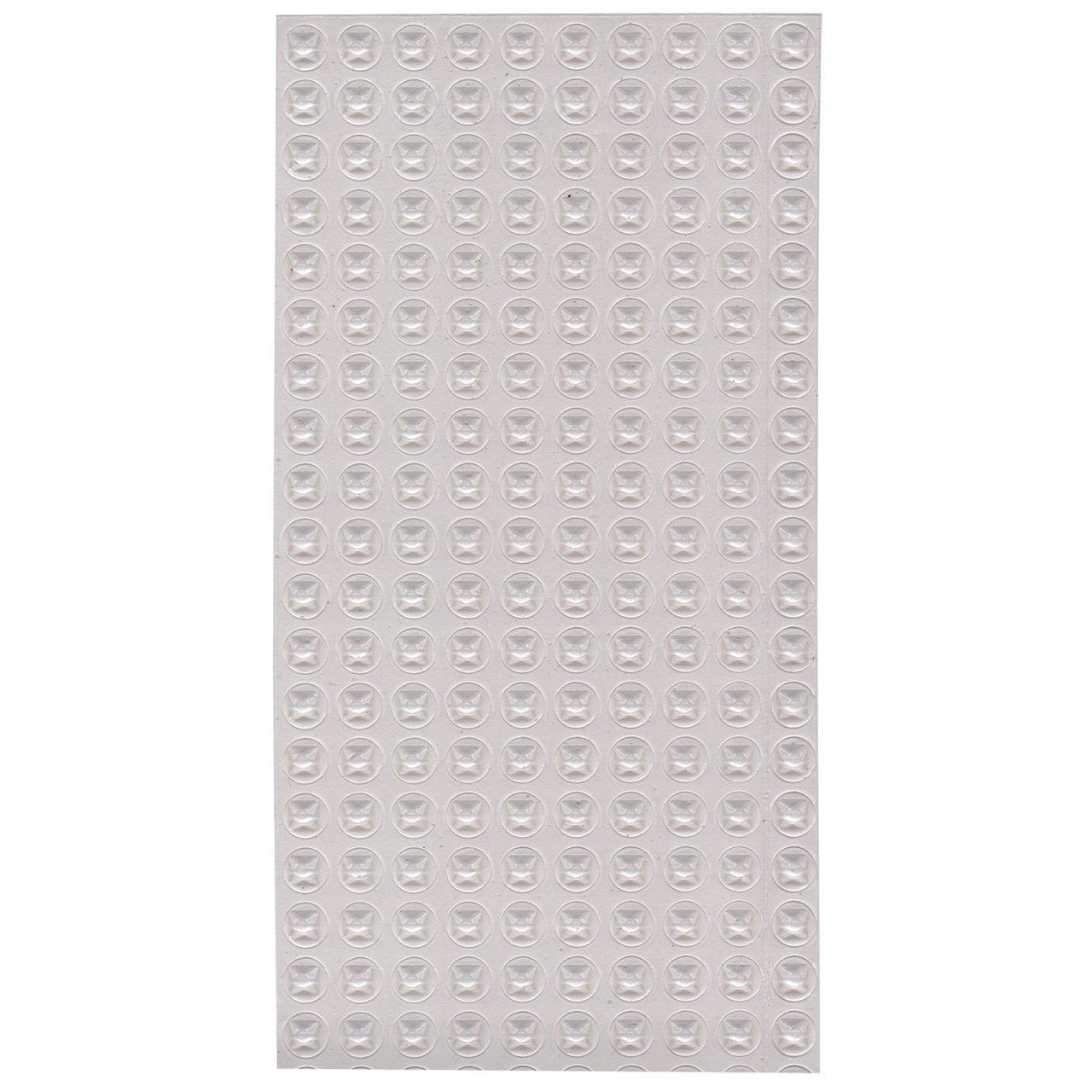 Bump Dots-Pyramidal-Clear-Med-200pk