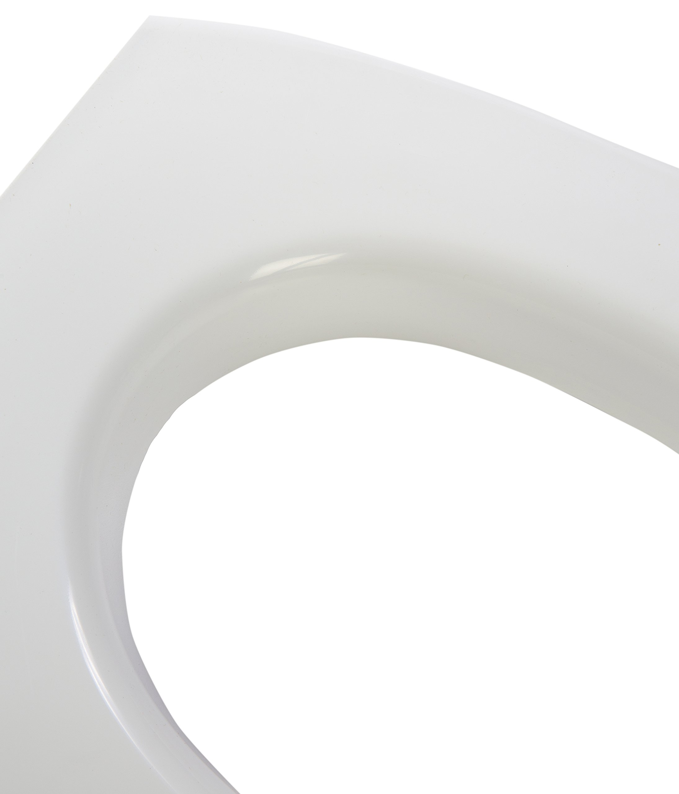 Big John Products 7-W Classic Toilet Seat, White by Big John Products