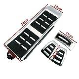 qlhshop Car Manual Pedal Pad Footrest Gas Brake