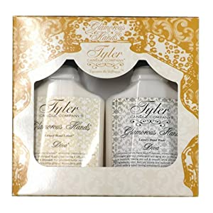 TYLER Candle Glamorous Hand Bath and Shower Gift Set, Diva