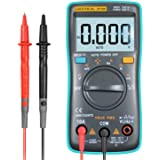 URXTRAL デジタルマルチメーター 電流 電圧 電流抵抗 温度 周波数 バックライトLED付き 12ヶ月の保証 (ZT102)