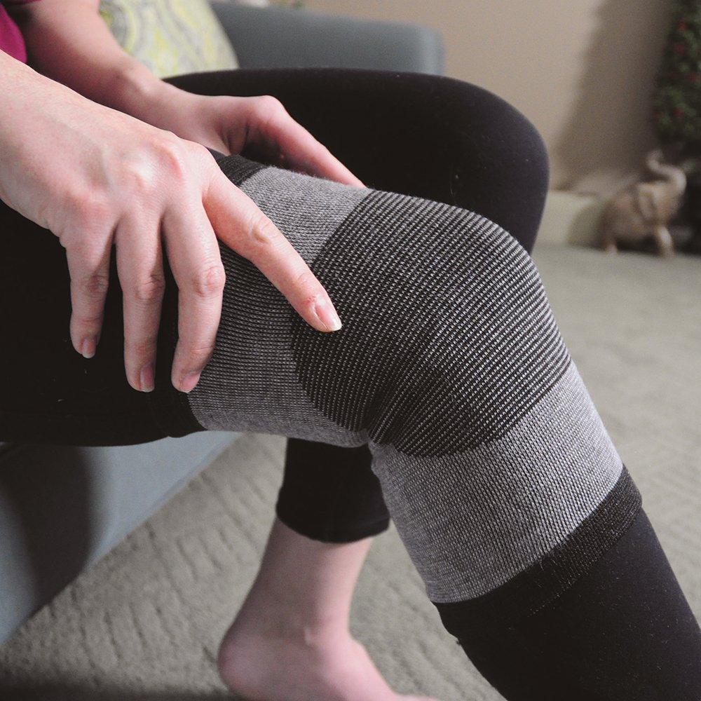 Knee Support - Bamboo Charcoal Technology - Self-Warming Knee Sleeve - Medium