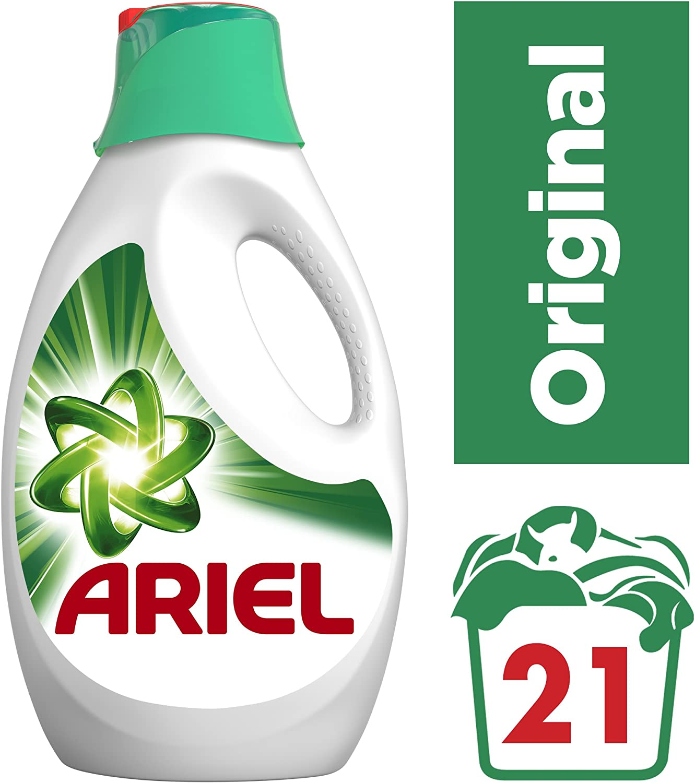 Ariel Detergente Líquido para Lavadora - 21 Lavados: Amazon.es ...