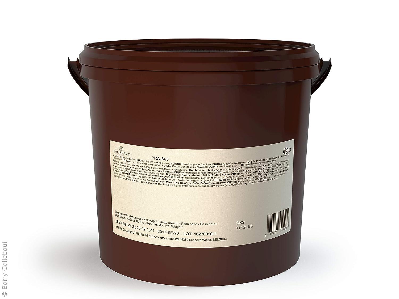 Amazon Com Callebaut Hazelnut Praline Paste With 50 Hazelnuts