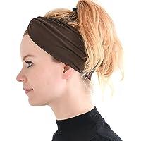 CHARM Casualbox | Sports Headband Elastic Turban Hairband Mens Womens Hair Band Yoga Headband