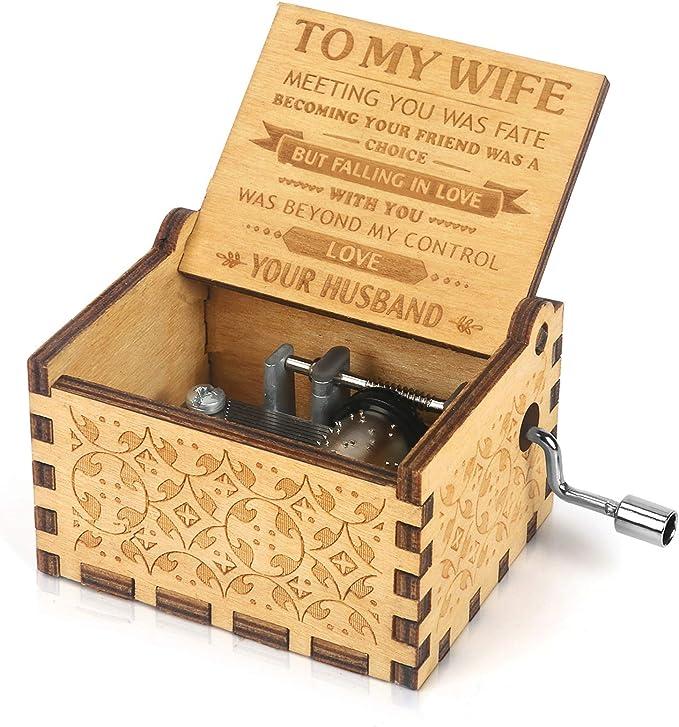 Wooden Musical Box