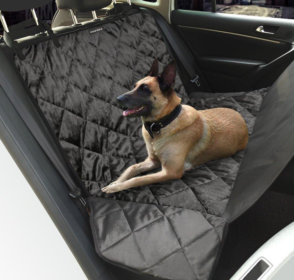 Funda de asiento de coche para perro Iwilcs, tela impermeable Oxford, hamaca para asiento