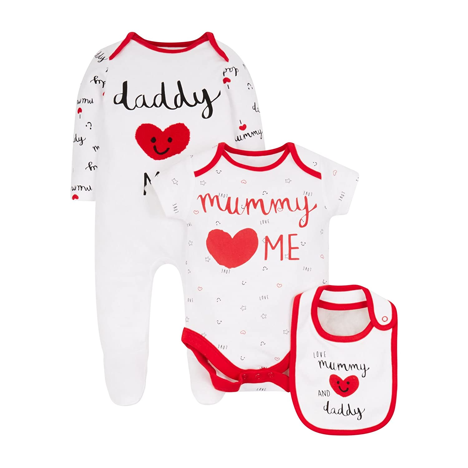 Mothercare Unisex Baby Bekleidungsset PD390