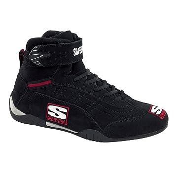 Simpson Racing Shoes >> Amazon Com Simpson Racing Ad125bk Adrenaline Black 12 1 2 Sfi