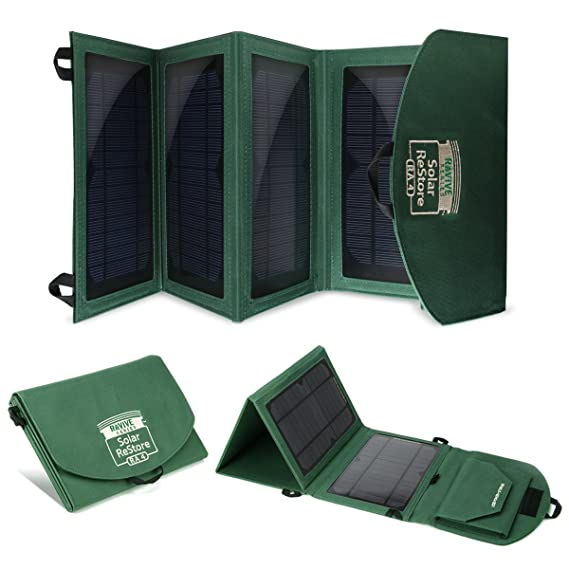Amazon.com: Restaurar RA4 portátil plegable Solar Cargador ...