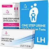 PREGMATE 25 Ovulation LH Test Strips Combo Predictor Pregnancy Kit Pack (25 LH)