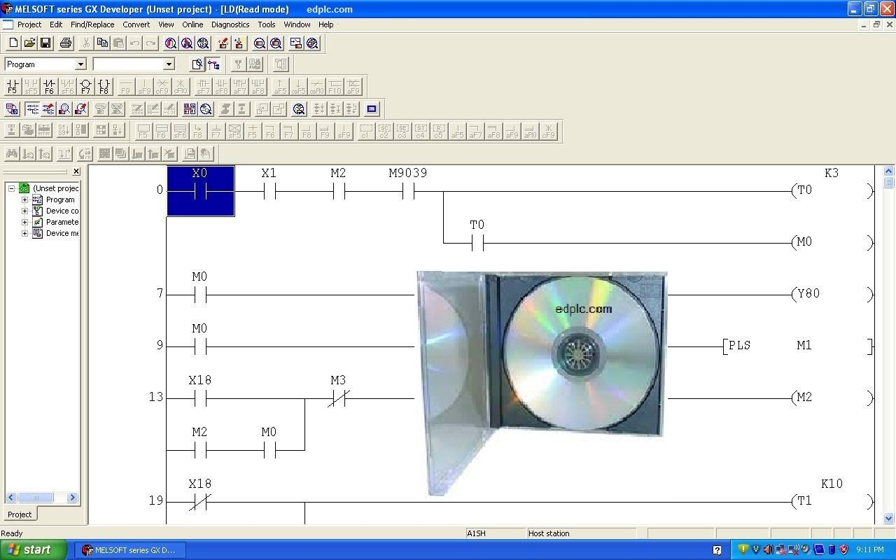 Plc Development Software Iec Fbd And Ladder Logic Diagram Has A Simplify Programming Functions With Automation Training Course Cd Industrial Scientific