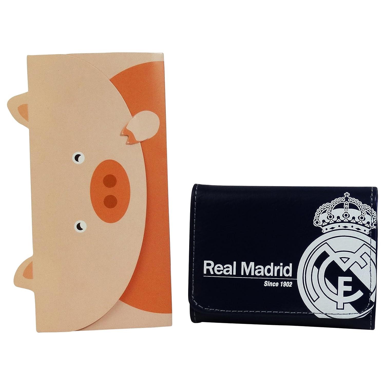 Real Madrid Silver Billetera Monedero Carteras Para Hombre ...