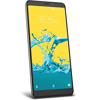 ZTE Blade Max 2S Factory Unlocked Phone - 6Inch Screen - 32GB - Grey (US  Warranty)