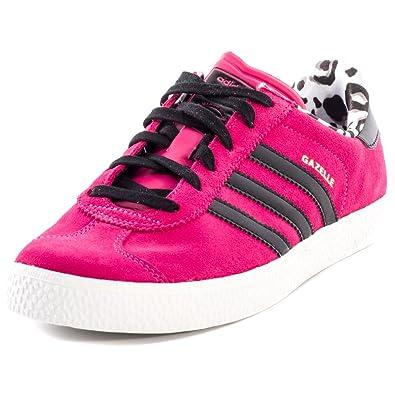 pas mal 7738f d5e3a adidas Originals Baskets Gazelle 2 Rose Fille: Amazon.fr ...