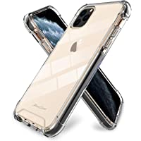 ProCase iPhone 11 Pro Max Case Clear, Slim Hybrid Crystal Clear Cover Protective Case for iPhone 11 Pro Max 6.5 Inch 2019 Release -Clear