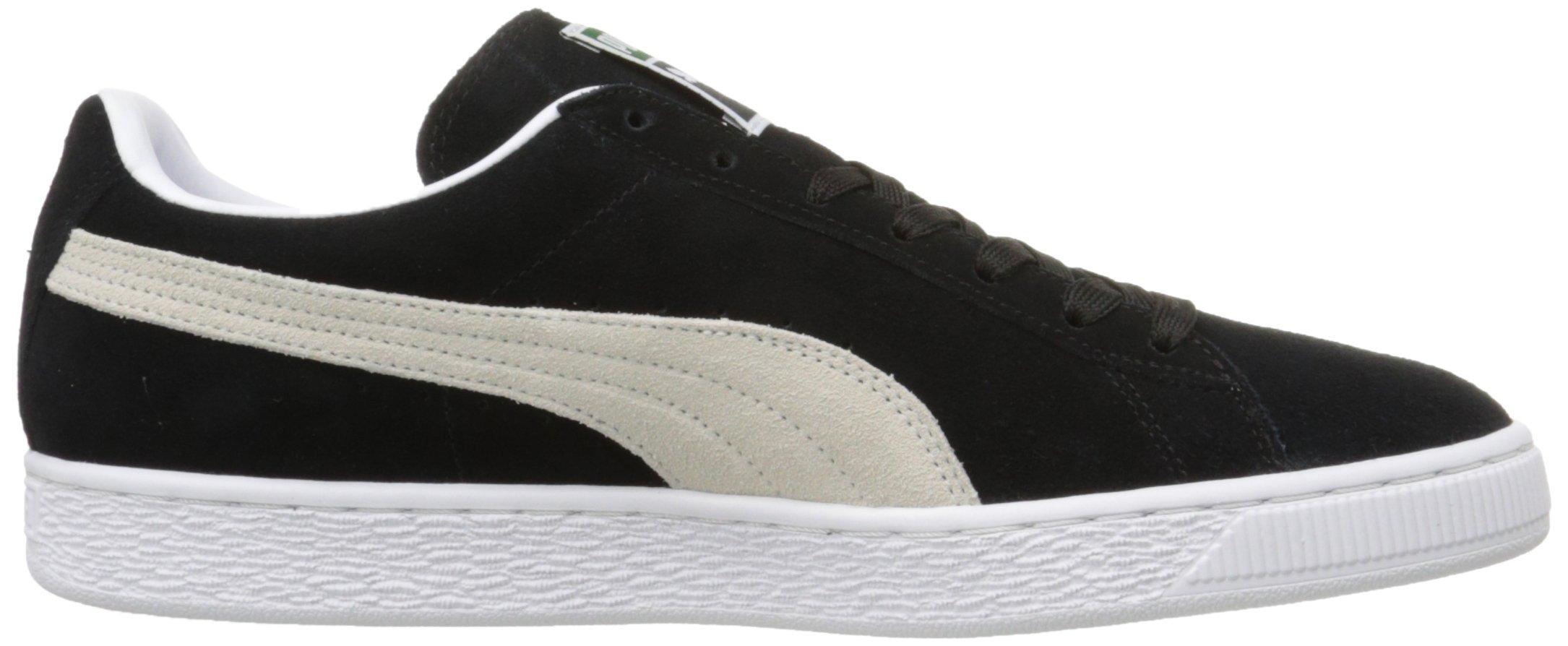 PUMA Suede Classic Sneaker,Black/White,9.5 M US Men's by PUMA (Image #15)