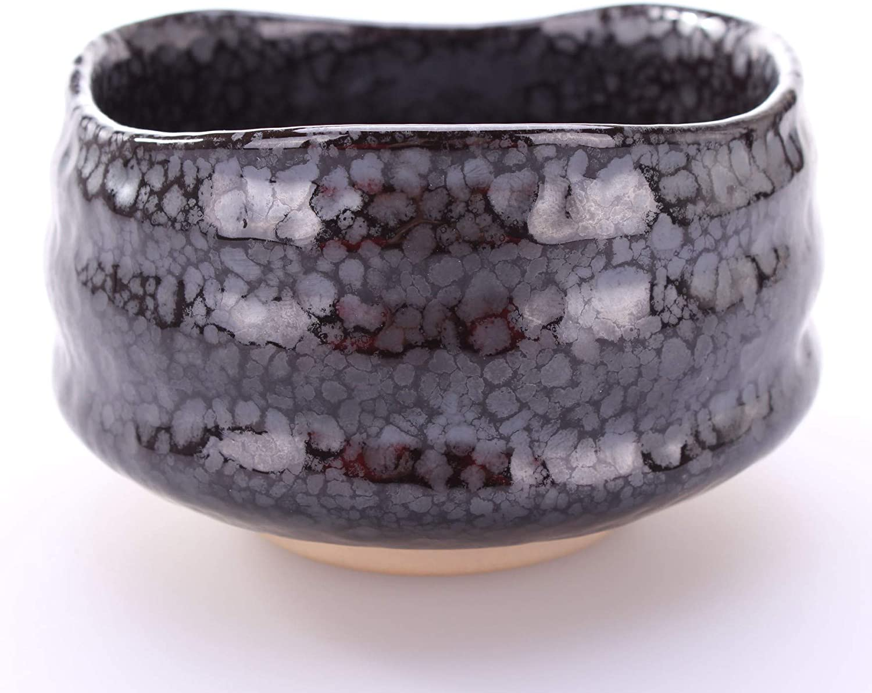 Goodwei Japanese Matcha Ceremonial Tea Bowl incl. Whisk Holder, Sakura