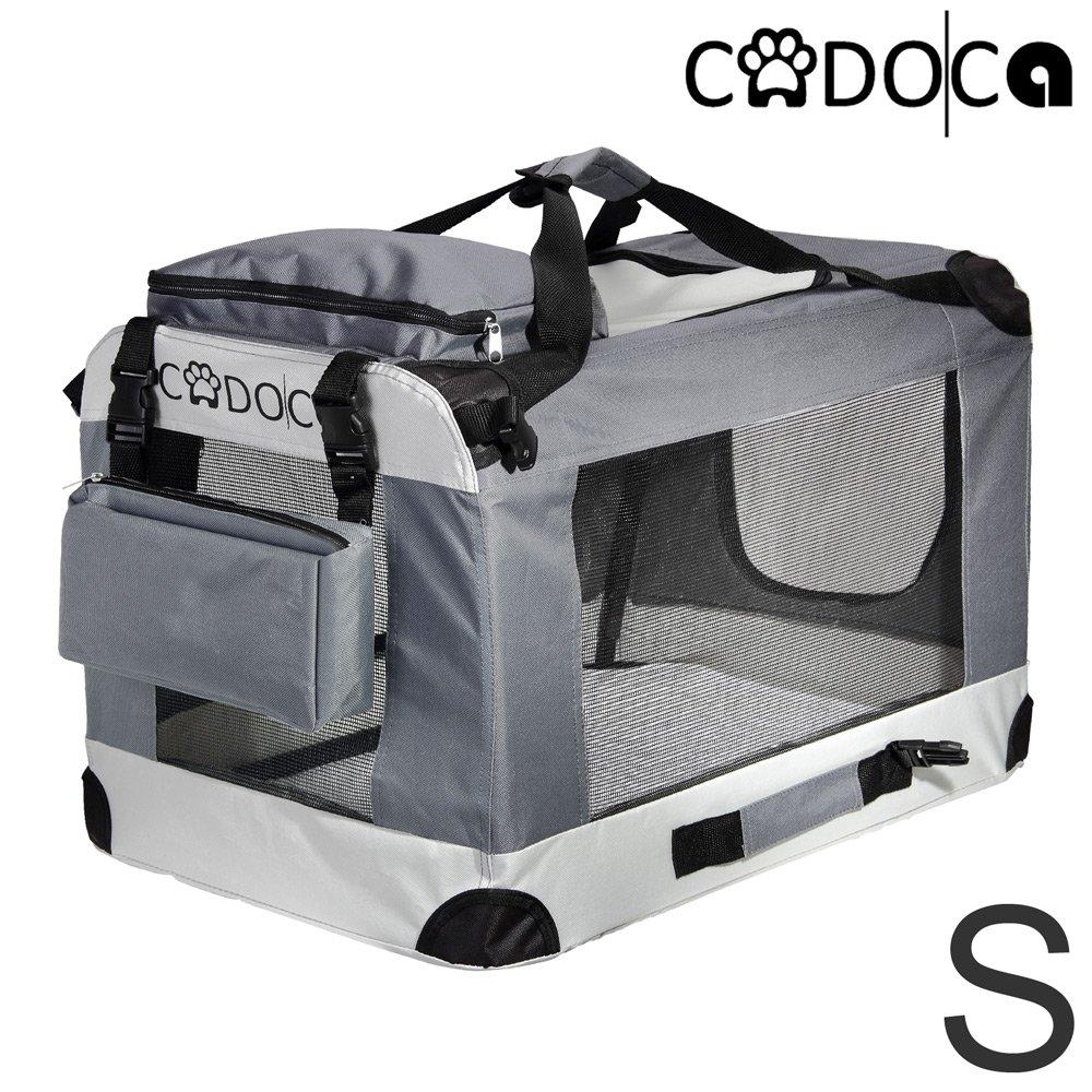 Deuba Cage de Transport Pliable pour Chiens Chats Animaux CADOCA Taille XL Boite Box