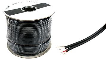 50 m doble cable de audio apantallado – Escopeta Dual estéreo de 2 Núcleos, RCA